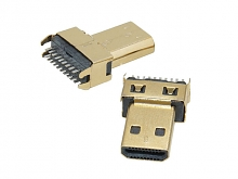 micro HDMI Male D Type DIP Connector