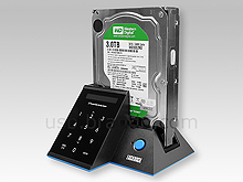 EZSAVE Lockdock USB 3.0 SATA HDD Dock
