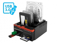 USB 3.0 Triple SATA/IDE HDD Multi-Function Dock