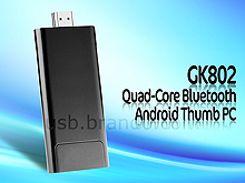 GK802 Quad-Core Bluetooth Android Thumb PC