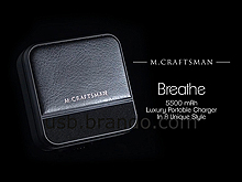 M.Craftman Breathe - Luxury Portable Charger 5,500mAh