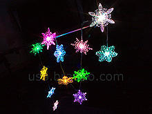 USB Snowflakes Decor Light (12 LED Lights)