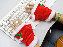 USB X\'mas Heating Gloves