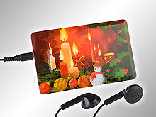 USB X\'mas Seriers Flash Card MP3 Player