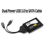 Dual Power USB 3.0 to SATA Cable