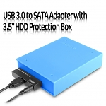 USB 3.0 to SATA Adapter with 3.5