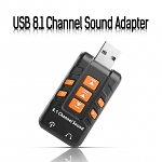 USB 8.1 Channel Sound Adapter