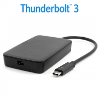 Thunderbolt 3 USB-C to Thunderbolt 2 Mini DisplayPort DP Adapter (40Gbps)
