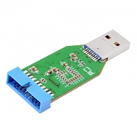 USB 3.0 A Male to 20-Pin Female Adapter
