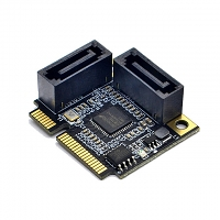Mini PCI-Express to Dual SATA 3.0 Expansion Card