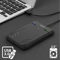 Unitek Y-3036 USB 3.0 2.5 SATA HDD Enclosure