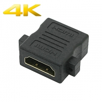 HDMI Female to HDMI Female Cable with Screw Hole (Support 4K x 2K)