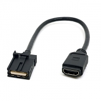 HDMI 1.4 Type A Female to Type E Male Video Audio Cable