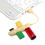 USB Peanut 4-Port Hub
