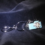 USB Jewel Camera Keychain Flash Drive