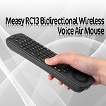 Measy RC13 Bidirectional Wireless Voice Air Mouse
