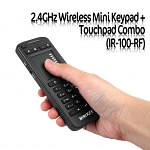 2.4GHz Wireless Mini Keypad + Touchpad Combo (IR-100-RF)