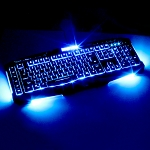 USB Avengers Illuminated Gaming Keyboard