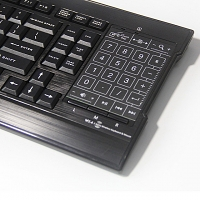 2.4GHz Thin Touchpad Wireless Keyboard (RFKB-302)