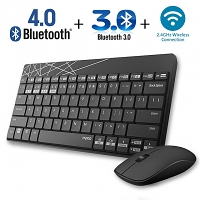 Rapoo X220M Multi-Mode Wireless Keyboard Combo