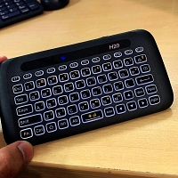 H20 Wireless Mini Keyboard Touchpad