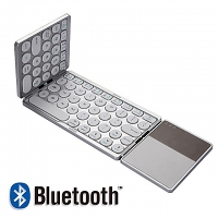 Foldable Bluetooth Dot Keyboard with Touchpad