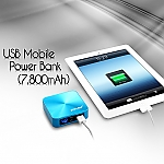 USB Mobile Power Bank (7,800mAh)
