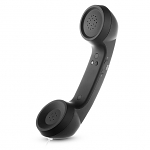USB Retro Headset with Answer Call Button