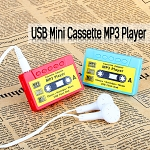 USB Mini Cassette MP3 Player