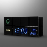 Air Quality Tester Alarm Clock