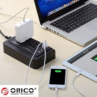 ORICO OPC-2A4U 4-Port USB Charger with Dual AC Ports