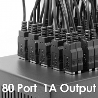 80-Port USB Charger