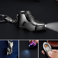 USB Mini Shoe Lighter Keychain