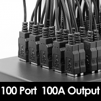 100-Port USB Charger