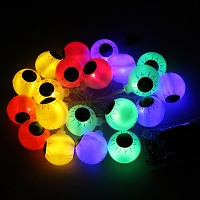 Halloween Eyeball Decor Light (16 LED lights)