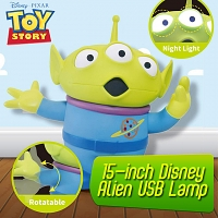 15-inch Disney Alien USB Lamp