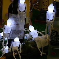 Halloween Skeleton Decor Light (10-LED lights)