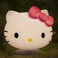 Hello Kitty Big Head Lamp