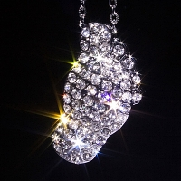 USB Jewel Foot Necklace Flash Drive II