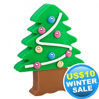USB X'mas Tree Flash Drive