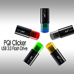 PQI Clicker USB 3.0 Flash Drive
