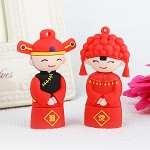 USB Chinese Wedding Lover Flash Drive