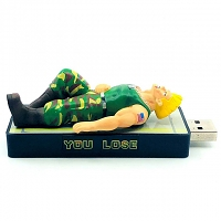 Street Fighter You Lose USB Flash Drive - Guile