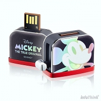 infoThink Mickey Mouse Toaster Styling USB Flash Drive