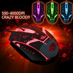 USB Crazy Bloody Gaming Mouse