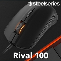 SteelSeries Rival 100 USB Illuminated Gaming Mouse