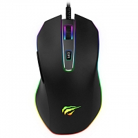 HAVIT USB RGB Backlit Programmable Gaming Mouse