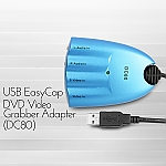 USB EasyCap DVD Video Grabber Adapter (DC80)