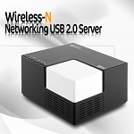 Wireless-N Networking USB 2.0 Server