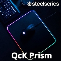 SteelSeries QcK Prism Illuminated Mousepad